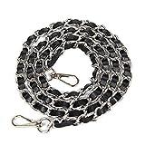 Bobury Placage Metal Fashion Longue chaîne Sangle avec Crochet Sac à Main/épaule / Croix de Remplacement Body Bag