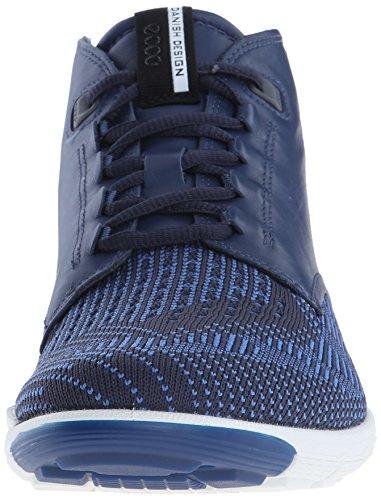 Ecco Ecco Intrinsic 2, Baskets hautes homme Bleu - Blau (TRUE NAVY/MARINE-COBALT59792)