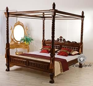 himmelbett 200x200 massivholz k che haushalt. Black Bedroom Furniture Sets. Home Design Ideas