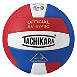 Tachikara Sv5wsc Sensi Tec Composite haute performance de volley-ball, SV5WSC.SWR, Scarlet/White/Royal, Official