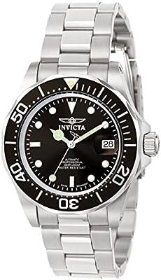 Invicta 9307 - Reloj unisex color negro / plateado