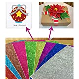 #6: Creative Soft Foam Sparkles A4 Glitter Sheet for Crafting and Decoration Use (Multi-colored)