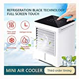 Mini Refroidisseur d'air Portable USB,Climatiseur Portable, Mini Climatiseur Mobile,...