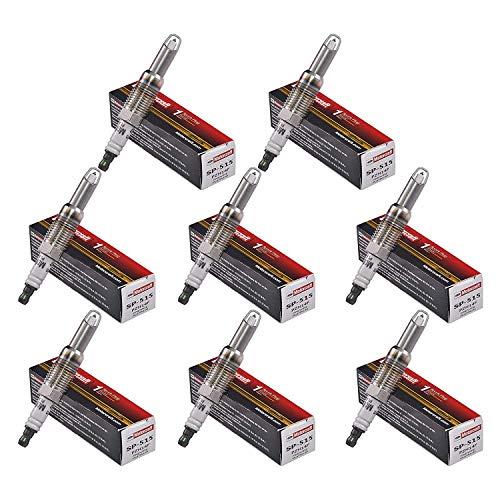 Candele di accensione per Ford F150 5,4 L - Set di 8 candele di accensione Motorcraft Platinum Alloy SP515-SP546 HT15.