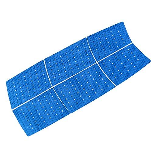 Matte, Surfbrett (Unbekannt 6 Stück Footpad Deck Grip Anti-Rutsch Matte Surfbrett Surfboard Traktion Pad - Blau)