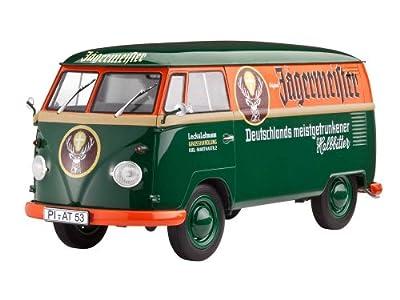 Revell Modellbausatz Auto 1:24 - Volkswagen VW T1 Bulli Samba Bus im Maßstab 1:24, Level 5, originalgetreue Nachbildung mit vielen Details