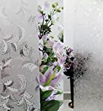 Verre Static Decorative Frosted Window glass film -DGF-ML001 (135cms X 90cms)