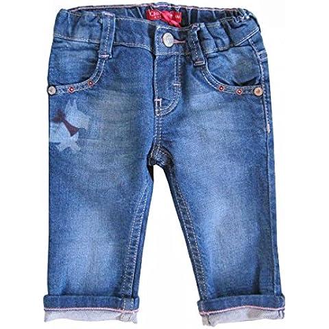 Chipie-Jean-stoné Chipie, diseño vaquero, color azul