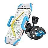 Supporto Bici Smartphone BrainWizz® 360 Air Bike Porta Telefono Bici, GPS e altri Dispositivi Elettronici per Bicicletta Ciclismo (Rotabile a 360 gradi, Cinturino in Gomma)