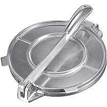 sunronal Prensa de Tortillas Maker Tortilla Press Sartenes Antiadherentes Aluminio Ensalada Tostada Bakers Tortilladora a Metálico