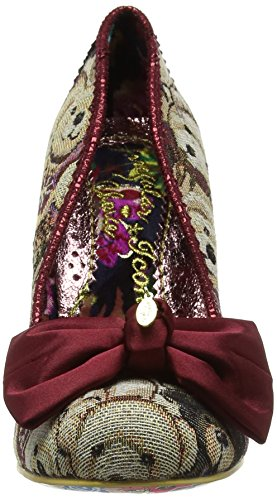 Irregular Choice French Fries, Escarpins Femme Red (Red Multi)