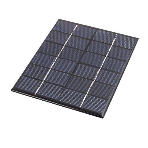 Descripciones:encapsuladas de alta eficiencia, panel solar proporciona suficiente energía para DIY.potencia pequeños motores u otras cargas; dispositivos perfectos para el proyecto de ciencias.Portátil, tamaño compacto y elegante con una sólida carca...