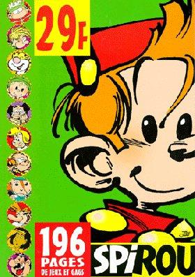 Spirou magazine, Eté 1999 : Jeux et gags