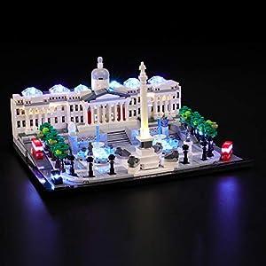 BRIKSMAX Kit di Illuminazione a LED per Lego Architecture Trafalgar Square, Compatibile con Il Modello Lego 21045…  LEGO