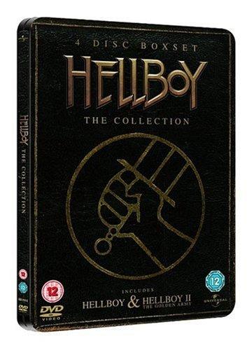 Hellboy / Hellboy 2: The Golden Army - Steelbook [4 DVDs] [UK Import]