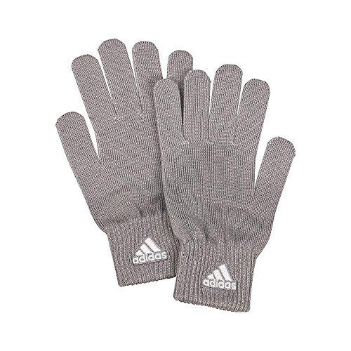 adidas Strick Handschuhe Grau Einheitsgröße