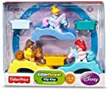 Fisher-Price Little People Disney Princess Klip Klops 3 Pack Exclusive