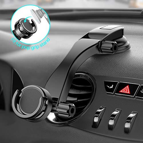 miracase MOVING LIFE Handyhalterung Auto, Auto Handyhalterung Magnet, Handyhalter fürs Auto, Handyhalterung Saugnaf, kfz Handyhalterung Multifunktion, universal Auto Handyhalter für Handy Ständer