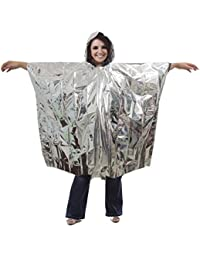 Foil Poncho blanket, Adult Size - Pack of 4