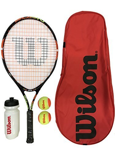 Wilson Burn 25 Jnr Tennis Schläger Set