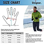 Unigear Winter Warm Gloves Double Waterproof Windproof with Touchscreen Function Cycling Gloves for Daily Use,Gardening, Builders, Mechanic 14