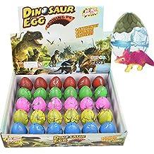 Yeelan Huevos de Dinosaurio Huevo de Juguete Crecimiento Dino Dragon para niños Paquete de Gran tamaño