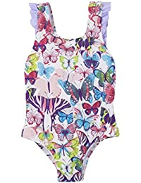 Hatley Bow Back Ruffle Swimsuit, Maillot Une Pièce Fille