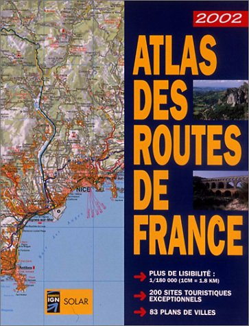 Atlas des routes de France, Edition 2002