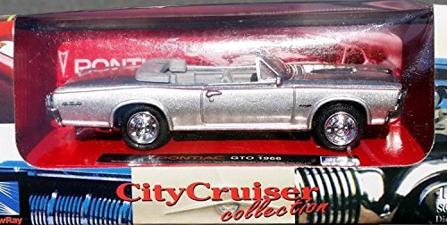1966-pontiac-gto-convertible-muscle-car-in-143-scale-or-lionel-o-o27-scale-diecast-metal-by-city-cru