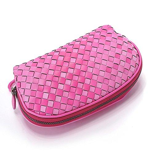 Borsa a mano donna/Sacchetto di mano moda europea tessuta/[Portamonete donna]/Feature Phone-A A