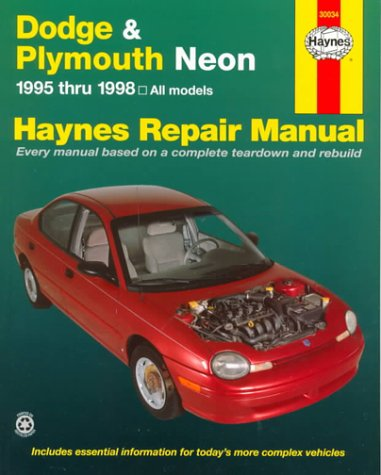 Haynes Dodge & Plymouth Neon Automotive Repair Manual: 1995 Through 1998 (Haynes Automotive Repair Manuals)