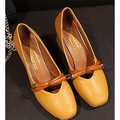 RTRY Donna Pantofole &Amp; Flip-Flops Comfort Estivo Pu Casual Chunky Heelblack Camminata Bianca US8 / EU39 / UK6 / CN39