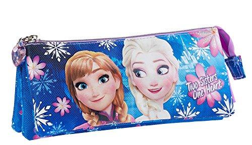 KARACTERMANIA Frozen Portatodo Triple, 23 x 10 cm Color Rosa 24 cm 93738