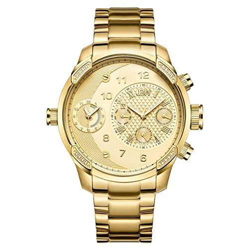 Jbw Diamond orologio da uomo in acciaio INOX, G3–oro