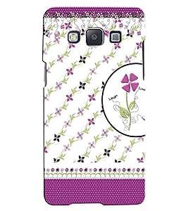 Citydreamz Love\Laugh Floral Hard Polycarbonate Designer Back Case Cover For Samsung Galaxy J3