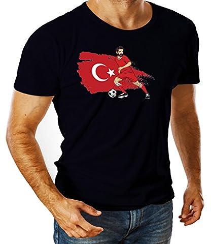 Billion Group   Turkey Crescent-Stars   Football Illustration   Sport