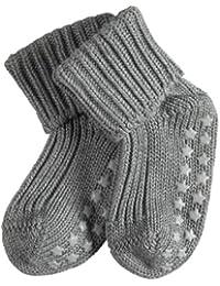 FALKE Unisex Baby Socken Cotton Catspads, Blickdicht, 2er Pack