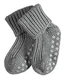 FALKE Unisex-Baby Socken Cotton Catspads, Einfarbig, Gr. 80-92 (Herstellergröße: 12-18 Monate), Grau (light grey)