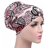 Aquiver Capispalla per capelli stile indiano unisex turbante elasticizzato testa capelli avvolgere la cuffia avvolgere la cuffia con cappuccio sciarpa turbante, G