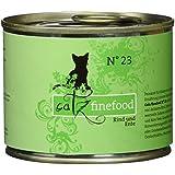 Catz finefood Katzenfutter No.23 Rind & Ente 200g, 6er Pack (6 x 200 g)