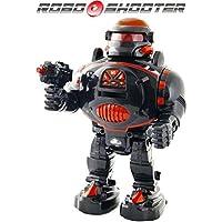 ThinkGizmos Robot teledirigido - Dispara Discos, Baila, Habla - RoboShooter