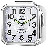 Réveil analogique à quartz Atrium A530-0 - Sans tic-tac - Alarme puissante - Grands...