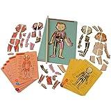 Janod - J05491 - Body Magnet L'Anatomie - 11 langues