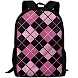 best& Stylish Geometric Feminine Laptop Backpack School Backpack Bookbags College Bags Daypack