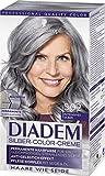 Schwarzkopf Diadem Seiden-Color-Creme, S02 Intensives Silber Stufe 3, 3er Pack (3 x 142 ml)