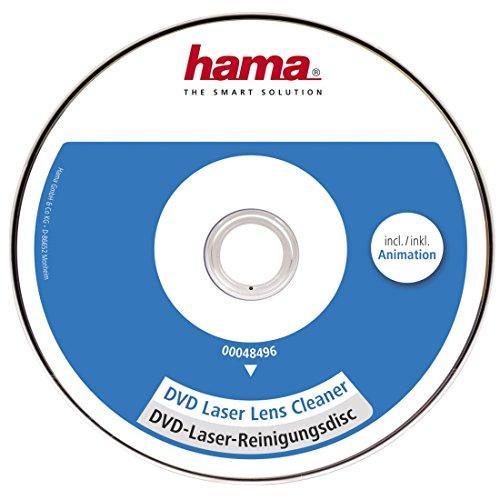 Hama DVD Reinigungsdisc (zur Beseitigung von Schmutz in DVD Laufwerken) Laser-Reinigungs DVD