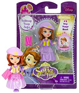 """Buttercup Troop Sofia ~3"""" - Disney Sofia the First Mini-Doll Series: #2 Try Your Best"""