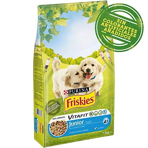 Purina - Friskies Vitafit Perro Junior Pollo 7,5 Kg
