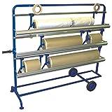 Abrollgerät für Abdeckpapier und Folien mobil/Papierabroller