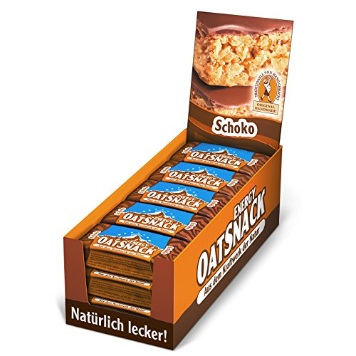 Best Body Nutrition Davina Oat Snack Riegel, Schoko, 15 Riegel á 65g, 1er Pack (1 x 1 g)